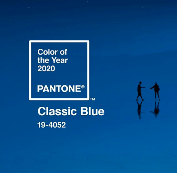 cor do ano 2020 da Pantone
